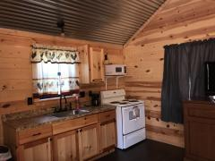 Rental Cabins Kitchen